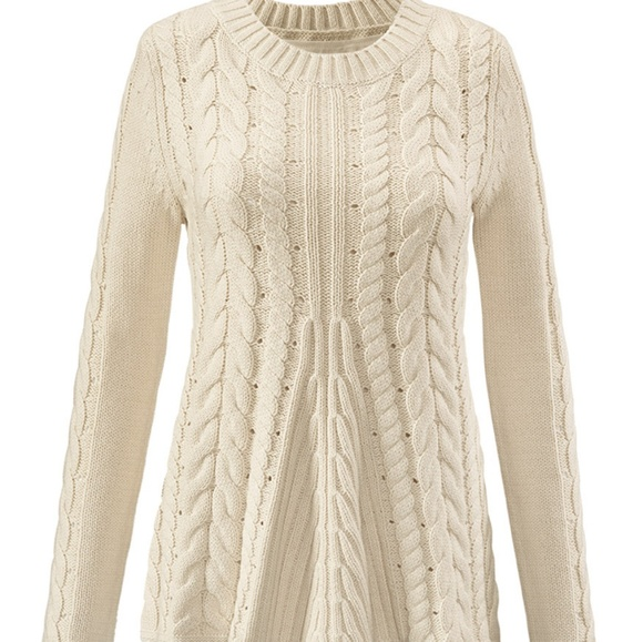 646deff28b NWT Cabi Lace-up sweater style 3157